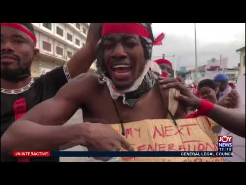 #FixTheCountry Demonstration: Protesters table a myrid of demands - JoyNews Interactive (4-8-21)