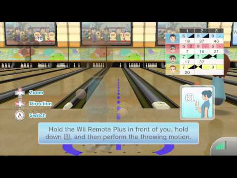 Wii Sports Club Online - Part 1 - Bowling