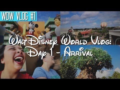 Walt Disney World Vlog: Day 1 - Arrival | January 2017