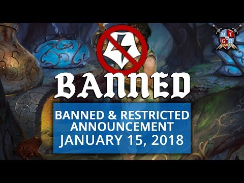 BANNED AND RESTRICTED ANNOUNCEMENT JANUARY 15, 2018 | Energy and Ramunap Red Take a Hit
