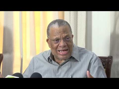 Dr  Peter Phillips - launch of the Youth Employment, Innovation & New Economy Commission