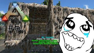 DIE BEHAUSUNG IST FERTIG - Let's Play ARK Survival Evolved #6 | Indie Game