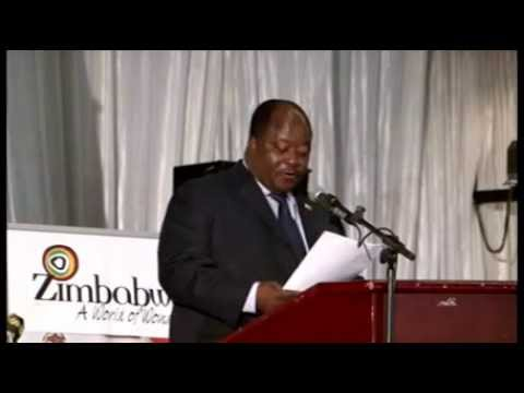 MINISTER OF CULTURE OF ZIMBABWE ACEPTANCE SPEECH FOR FAVORITE CULTURAL DESTINATION IN 2014