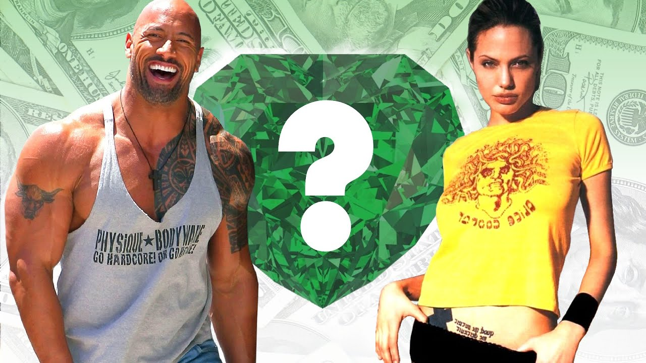 "WHO'S RICHER? - Dwayne ""The Rock"" Johnson or Angelina ..."