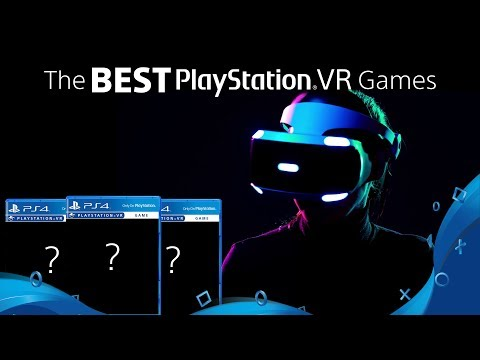 The BEST PlayStation VR Games