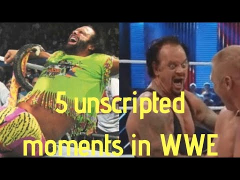 5 Unscripted Moments In  WWE!! | WWE MALAYALAM NEWS HWM !|