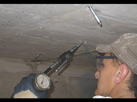 Гидроизоляция трещин. Инъектирование трещин в бетоне Дезои Btm-group.com.ua