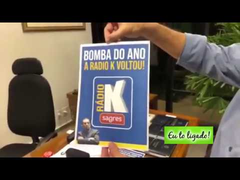 Kajuru anuncia volta da Rádio K na Rádio Sagres