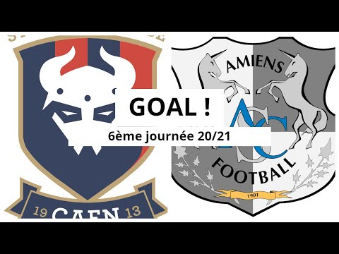 Caen Amiens Goals And Highlights