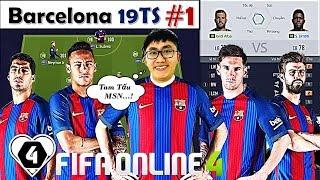 """Xây Dựng & Trải Nghiệm Đội Hình """" BARCELONA 19TS """" XUẤT SẮC NHẤT Với Chim Đầu Đàn L. Messi 19TOTS #1"""
