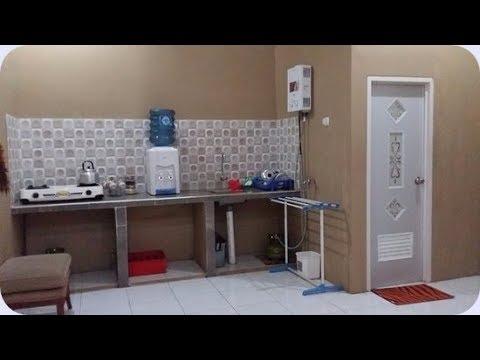 Desain Dapur Sempit Memanjang  desain dapur dan kamar mandi kecil sederhana desain