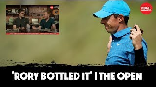 'Rory McIlroy bottled it, he can't handle the pressure' | Open fallout