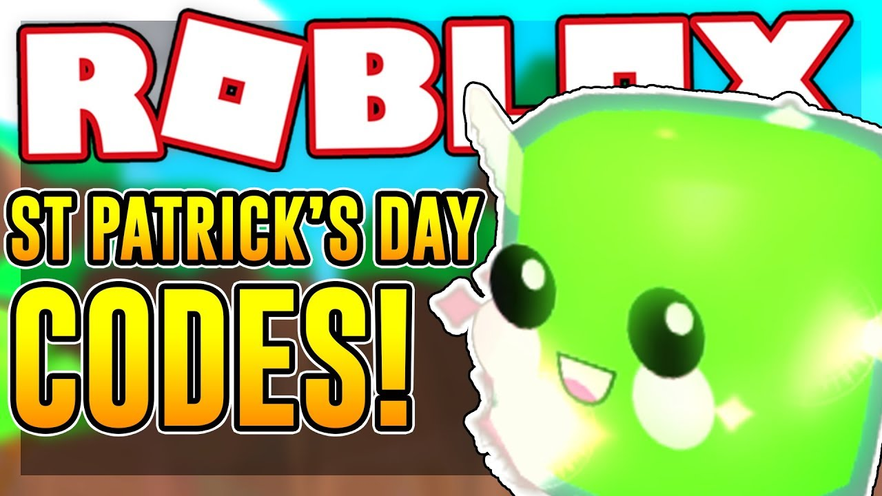 SIX ST  PATRICK'S DAY CODES IN BUBBLE GUM SIMULATOR | Roblox