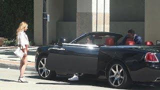 Rolls Royce Ghost Gold Digger Prank