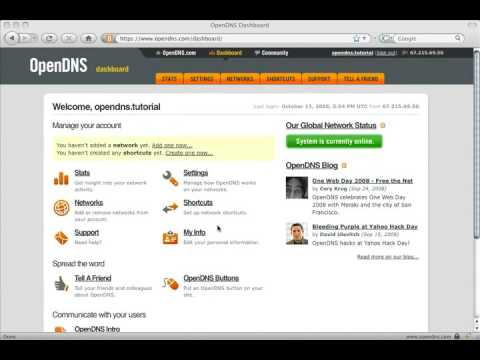 How To Block Websites Using OpenDNS from YouTube · Duration:  3 minutes 56 seconds