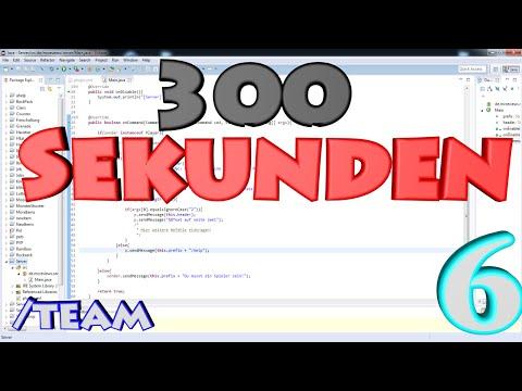300Sekunden   Bukkit Coding#6   /team