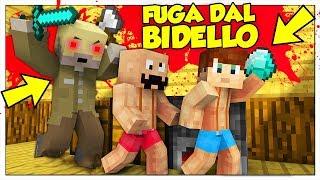 IL BIDELLO DELLA SCUOLA CI VUOLE UCCIDERE! - Minecraft ITA