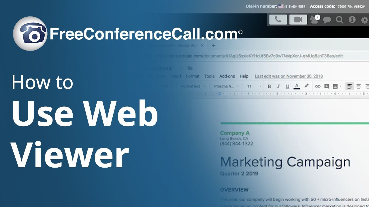 How to Use Web Viewer to Join Online Meetings