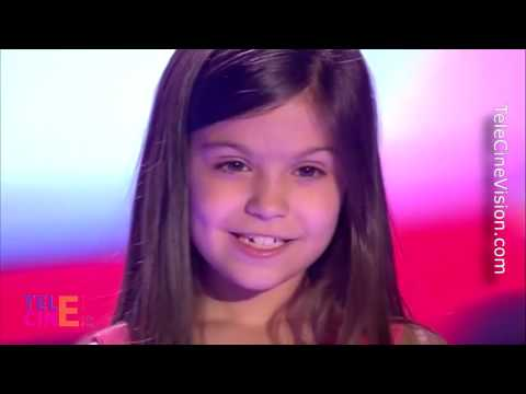 La Voz Kids 3 - Kely (De 9 Años) Emociona A Los Coaches Y Se Giren In Extremis #TeleCinevision