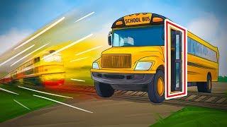 Почему автобус открывает двери на переезде