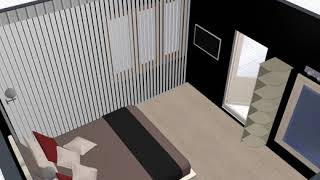 Luxe Home Decor Client Guest Room Design