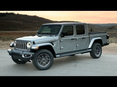 2020 Jeep Gladiator Overland | Overview | Driving, Exterior, Interior |