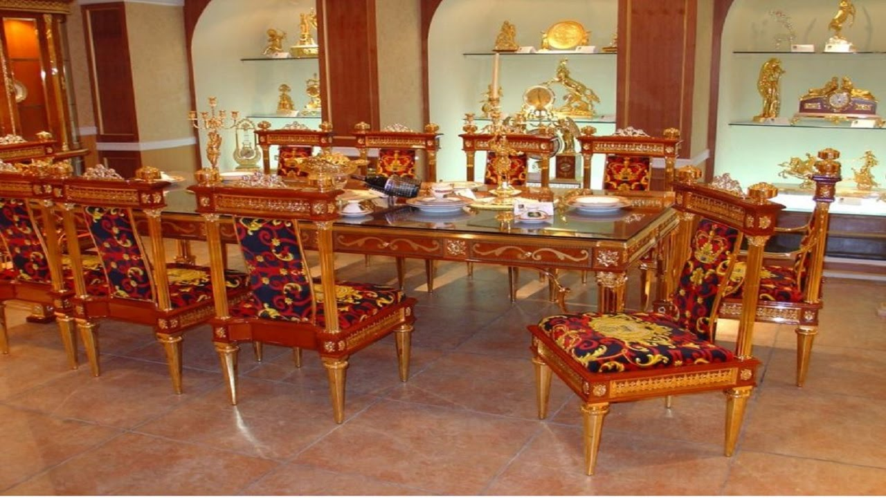 Top Most Expensive Dining Tables In The World Latest Traditional Best  Dining Tables 2015   YouTube