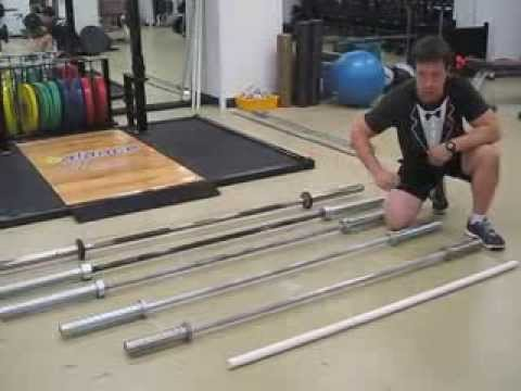 Barbells for Dumbbells - Choosing the Correct Barbell for your Lift
