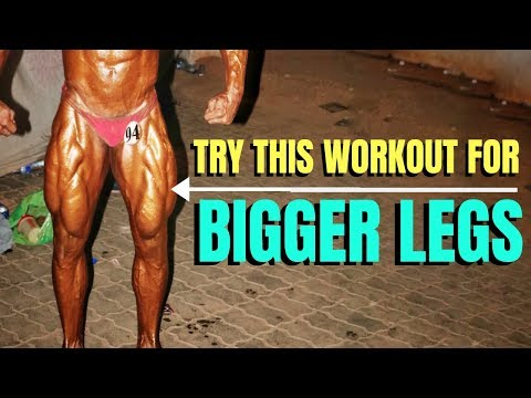 Intense LEG WORKOUT For RIPPED LEGS! | Try Not To Fall