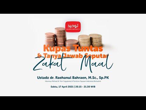 4 Jenis Harta yang Wajib di Zakati - Ustadz Khalid Basalamah