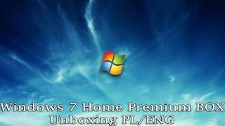 Windows 7 Home Premium BOX - Unboxing PL/ENG