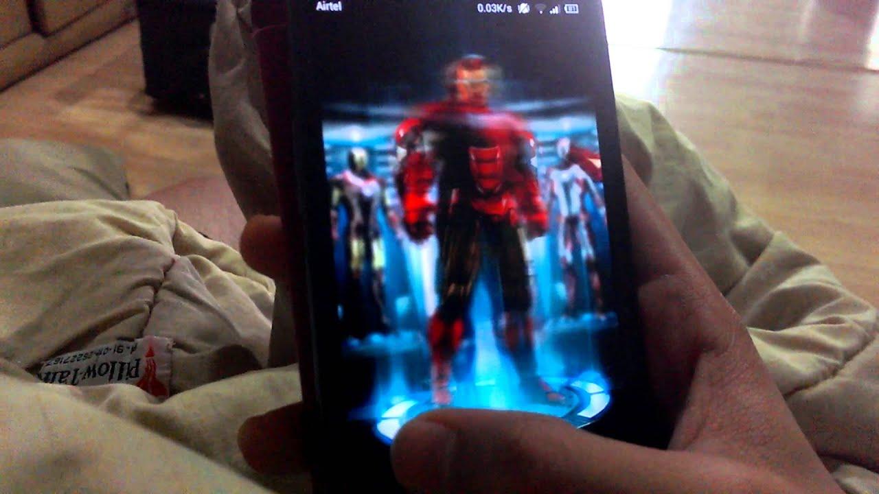 Miui V5 Iron Man Theme - LockScreen by Android Creature
