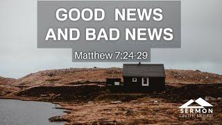 9/06/2020 (9:00 AM) Good News and Bad News