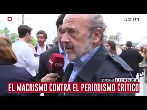 Eduardo Amadeo increpa a Lautaro Maislin