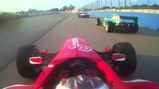 #R2IndyTV - One Lap with Shelby Blackstock