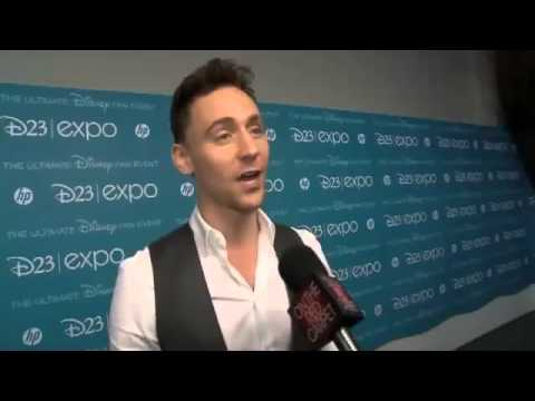 Tom Hiddleston talks voicing Captain Hook