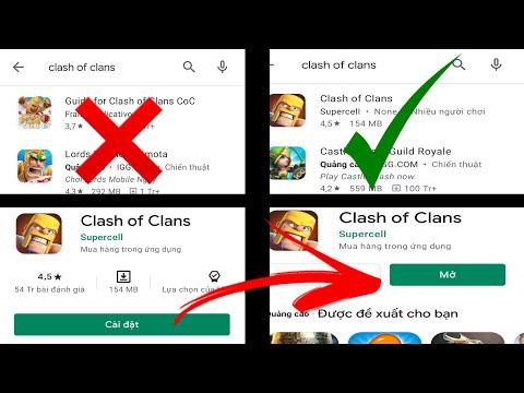 tải game clash of clans hack cho android - Hướng dẫn cách tải Clash Of Clans trên Android/CH Play 1 cách nhanh nhất | Chiến Chín Chắn