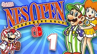 NES Open Tournament Golf - Part 1 - PlayerSelect