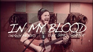 SHAWN MENDES - 'In My Blood' Loop Cover By Luke James Shaffer