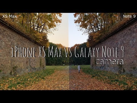 iPhone XS Max vs Galaxy Note 9. Битва камер.