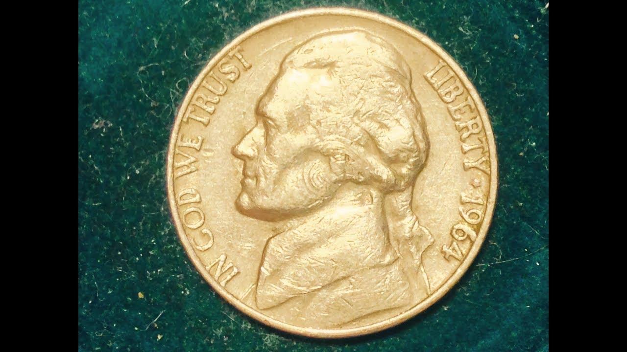 1964-D 5 Cent Jefferson Nickel