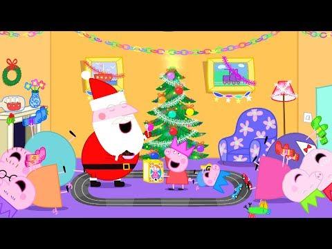 Peppa Pig Français | Compilation d'épisodes | 45 Minutes - Noël 4K! | Dessin Animé Pour Enfant