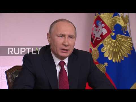 Russia: New ice-breaking tanker and Sabetta port are important in Arctic development - Putin