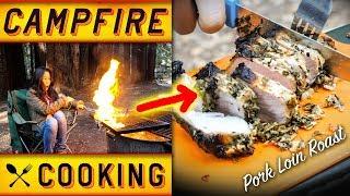 CAMPFIRE PORK LOIN ROAST  Camping Recipes
