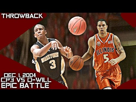 Chris Paul Vs Deron Williams 2005 NBA Draft PG Battle Full HLTS (12-1-04) FUTURE NBA STARS!