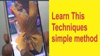 draping design techniques हिंदी | fashion designer prasanta kar online course