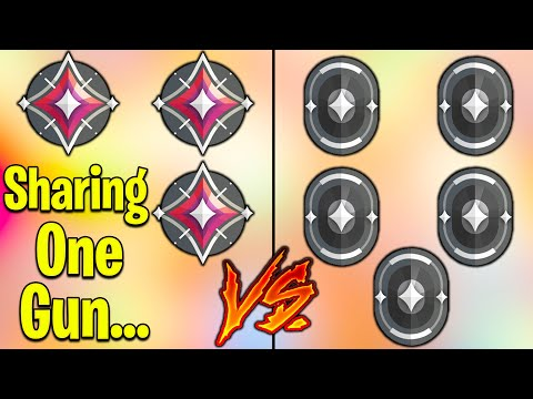 Valorant: 3 Immortal VS 5 Iron BUT, Immortal's SHARE ONE GUN!
