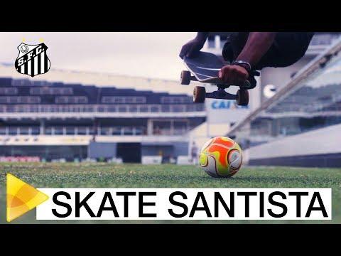 Santos FC cria equipe de skate