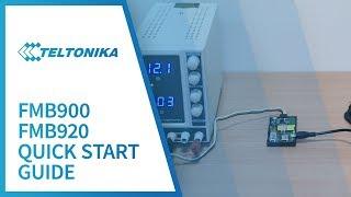 видео GPS трекер Teltonika FMB900