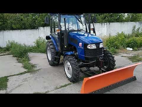 Трактор ДТЗ-5504К с кабиной и реверсом купить Agrotractor.com.ua